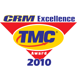 CRM Excellence Awards<br />Winner of the CRM Excellence Awards 2010<br />Technology Marketing Corporation - TMC<br />2010