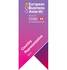 European Business Awards<br />Country Representative Germany<br />2011