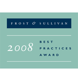 Frost & Sullivan<br />Competitive Strategy Leadership Award<br />EMEA Agent Performance Optimisation<br />2008