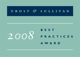 EMEA Agent Performance Optimisation 2008<br />Frost & Sullivan:Competitive Strategy Leadership Award