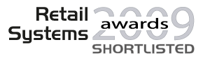 Nominiert in der Kategorie 'Technologieanbieter des Jahres'<br />IT-Handelsmagazin RETAIL SYSTEMS, UK: Retail Systems Awards 2009